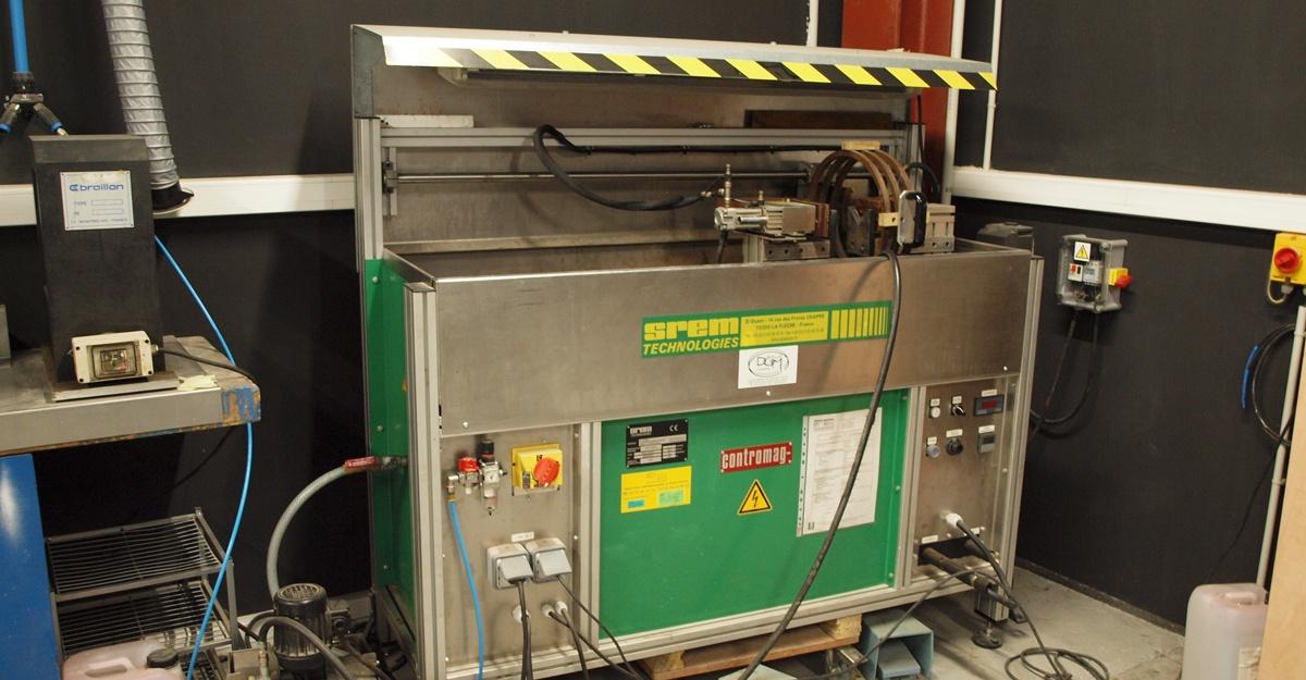 Machine contrôle CND magnétoscopie